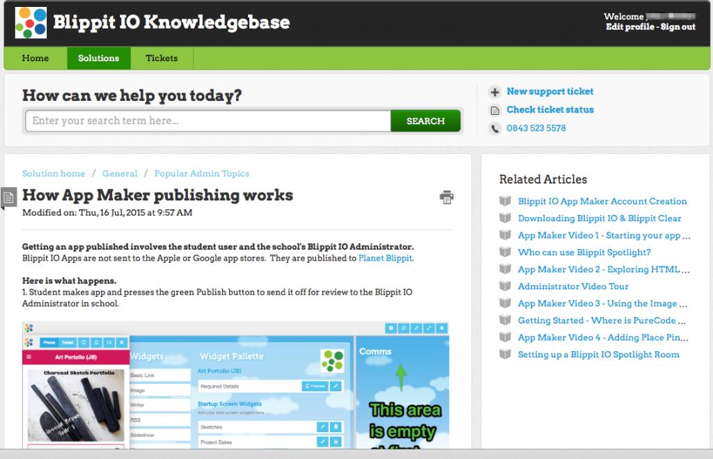 How_App_Maker_publishing_works___Blippit_IO_Knowledgebase