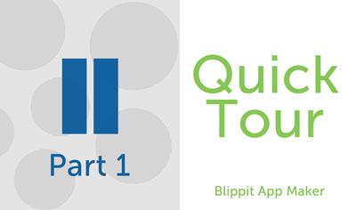 blippit app maker tour