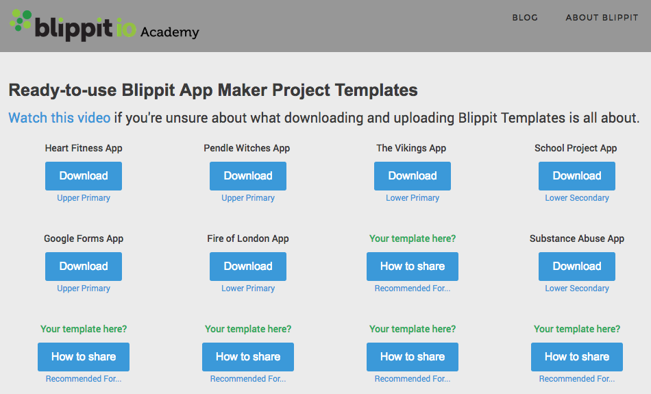 Blippit Academy