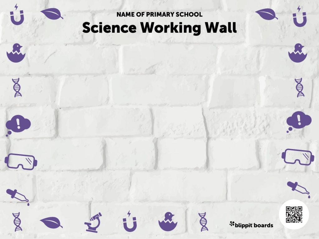 science wall from Blippit