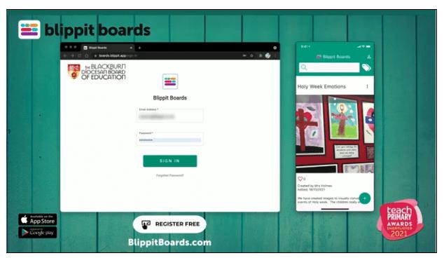 Blippit Boards - SIAMS